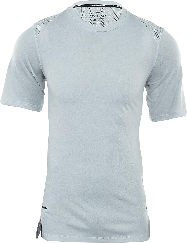 Nike M Nk Brthe Top Ss Elite - - - Pure Platinum Pure Platinum bl B01JI770M6  Stimmt 8d1f99