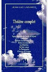 Théâtre complet: Tome 2 Broché