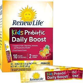 Renew Life 儿童每日益生菌提升,100 亿立方英尺,30 片