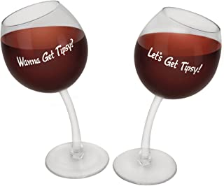 Best let's get tipsy wine glasses Reviews