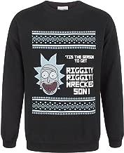 RICK AND MORTY Tis The Season Men's Christmas Sweatshirt