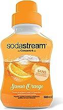 Sodastream Concentré Saveur Orange – Sans Arôme Artificiel et Sans Colorant Artificiel – 500 ml