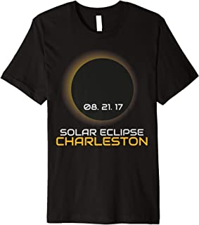 CHARLESTON SOUTH CAROLINA SC Solar Eclipse Tee Shirt 2017