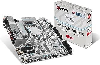 MSI Gaming Intel H270 DDR4 HDMI USB 3 CrossFire micro-ATX Motherboard (H270M MORTAR ARCTIC)