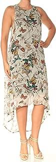 Women's Butterfly Hi-lo Hem Dress