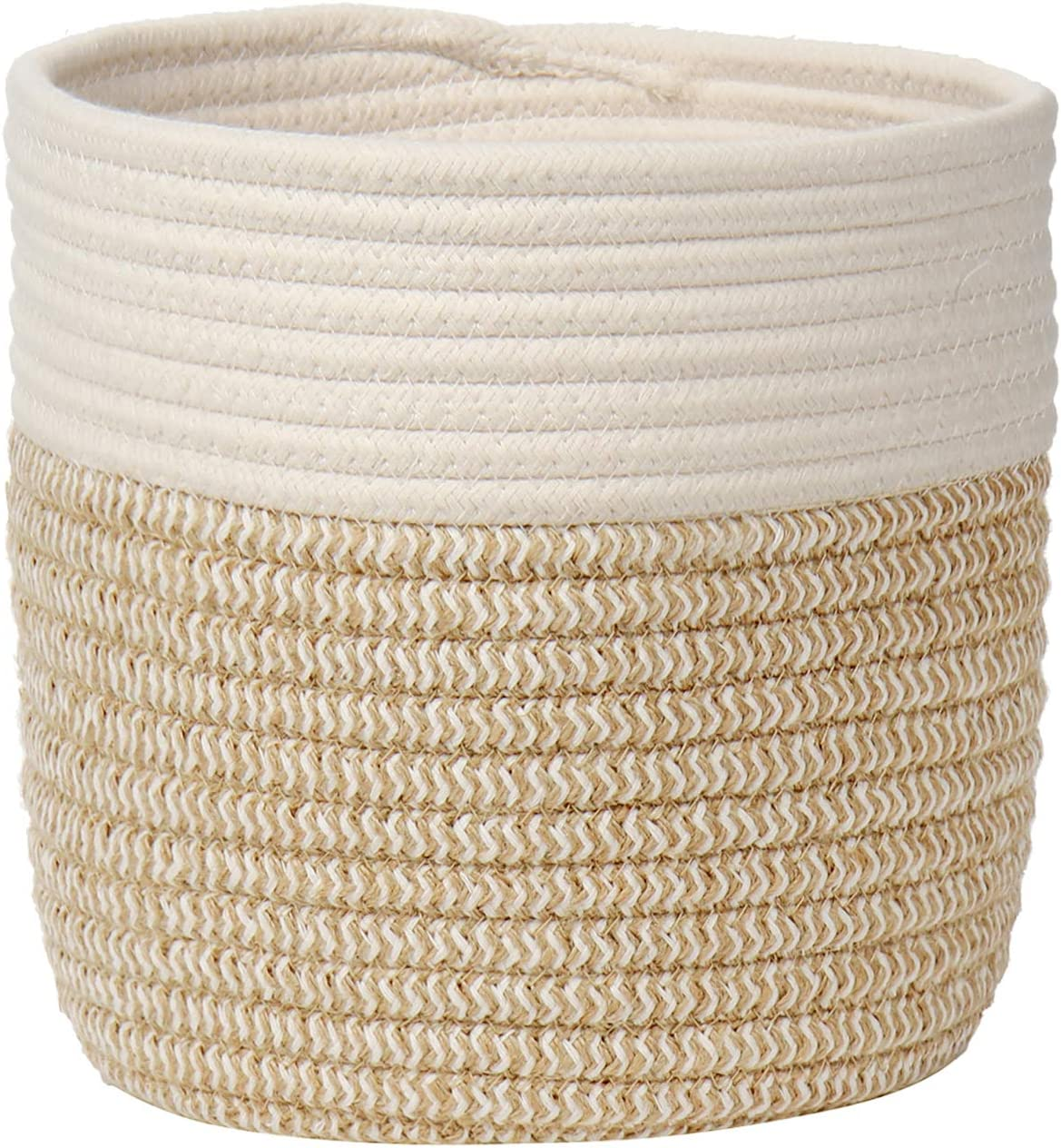Woven Cotton Rope Plant Basket for Flowers Pot Jute Price reduction Small Plante New sales