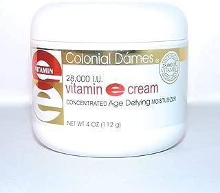 Colonial Dames Vitamin E Cream, 28, 000 Iu, 4 Oz