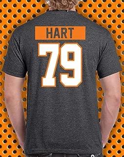 Carter Hart Philadelphia Hockey Name & Number Hart Logo Sports T-Shirt
