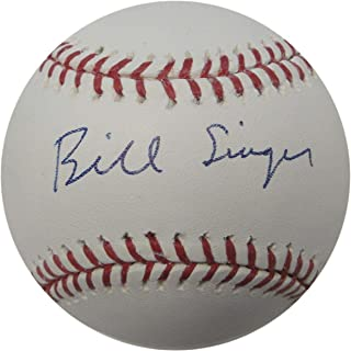 Autographed Bill Singer Ball - Major League Dodgers No Hitter - Autographed Baseballs