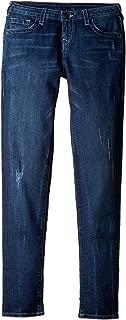 True Religion Kids Womens Casey Jeans in Chrome Blue (Big Kids)