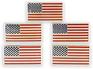 WIZARDPINS American Flag Pin with Magnetic Back