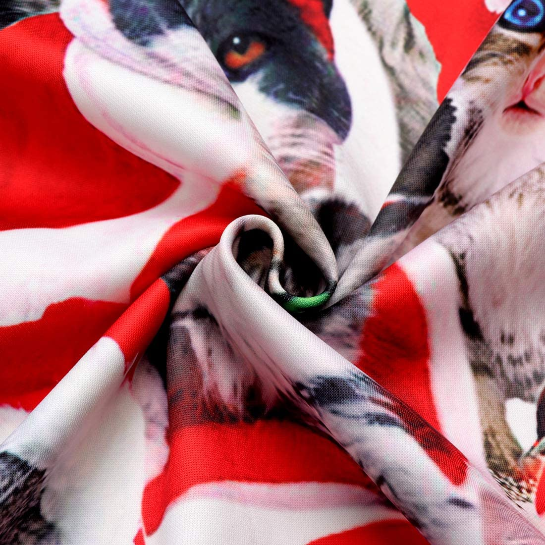 Goodstoworld Pull Noel Unisexe 3D Ugly Christmas Sweater /à Manches Longues Fun No/ël Elf Imprim/é Sweat-Shirt S-XXL