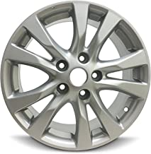 Road Ready Car Wheel For 2014-2018 Nissan Altima 16 Inch 5 Lug Gray Aluminum Rim Fits R16 Tire - Exact OEM Replacement - Full-Size Spare
