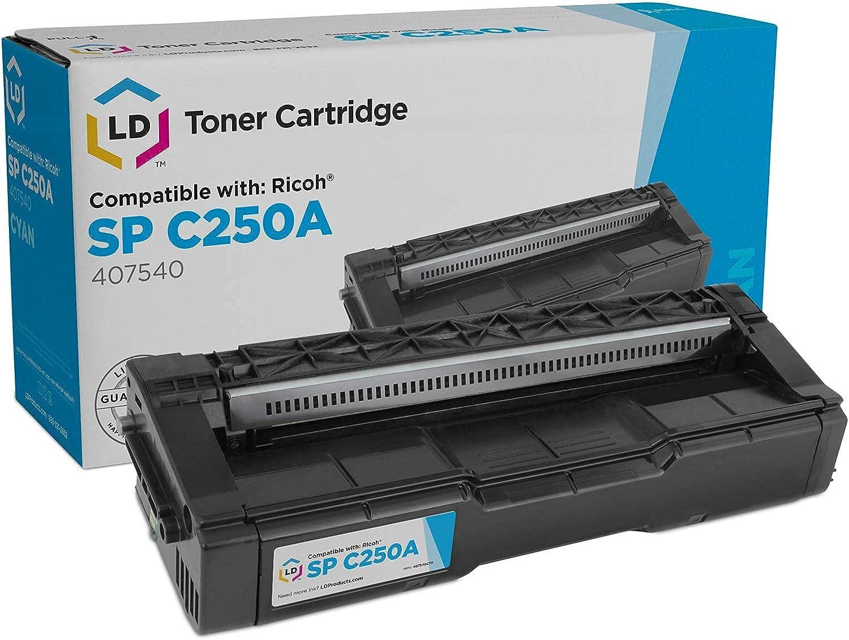 LD Compatible 5 popular Toner Cartridge Replacement SP 4075 Cheap SALE Start Ricoh for C250