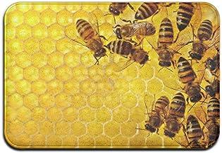 Sweet Bee Honeycomb Doormats Anti-slip House Garden Gate Carpet Door Mat Floor Pads