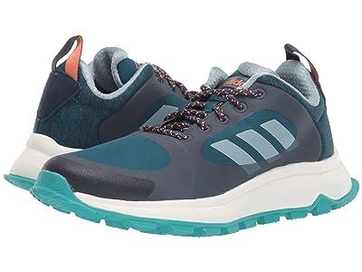 adidas Running Response Trail X (Trace Blue/Ash Grey/Tech Mineral) Women