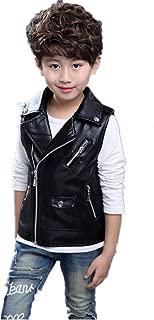 toddler leather vest