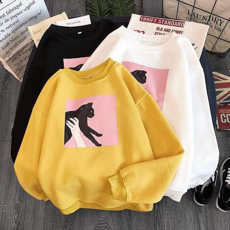 Hoodies for Women, Womens Blouse Tops Women's Hoodie Casual Long Sleeve Sweatshirt Pullover Tops Tunics for Women