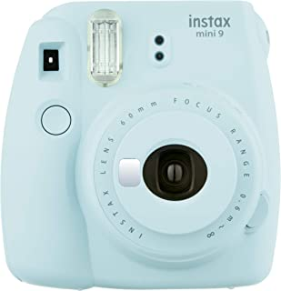 Fujifilm Instax Mini 9 - Cámara instantánea Cámara con 1x10 películas Azul