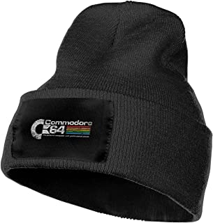 Knit Hat, Commodore 64 Beanie Winter Hats for Men Women
