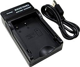 [SIXOCTAVE] ペンタックス D-BC109 K-r/K-30/K-50/K-S1/K-S2 等対応互換充電器 D-LI109 用 カメラ バッテリー USBチャージャー[メーカー純正互換共に充電可能]
