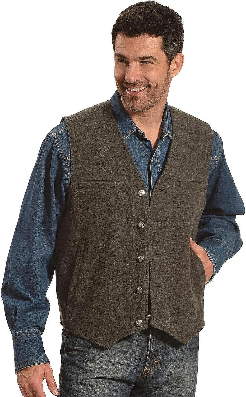 Wyoming Traders Men's Vest Ranking TOP15 Wool Max 48% OFF