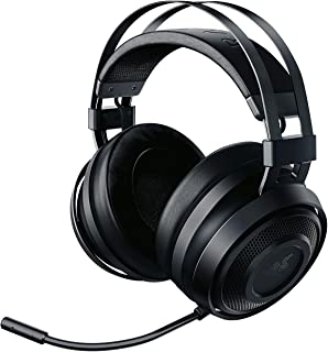 Razer Nari Essential Wireless 7.1 Surround Sound Gaming Headset: THX Spatial Audio - Auto-Adjust Headband & Swivel Cups - Auto-Adjust - Flip Mic - For PC, PS4, Xbox One