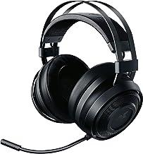 Razer Nari Essential Wireless 7.1 Surround Sound Gaming Headset: THX Spatial Audio - Auto-Adjust Headband & Swivel Cups - Auto-Adjust - Flip Mic - For PC & PS4 Only - Classic Black