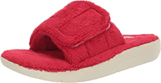 Copper Fit Womens ASR1661-RED Cozy Slide