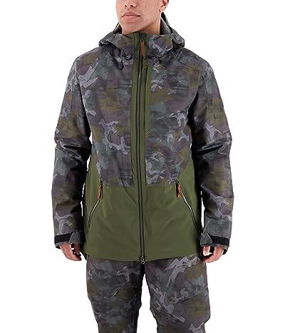 Obermeyer Chandler Shell Jacket (Off-Duty Camo) Men