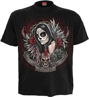 Spiral - Mens - Muertos DIAS - T-Shirt Black