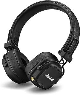 Marshall Major IV Opvouwbaar Bluetooth On-Oor Hoofdtelefoon, Zwart