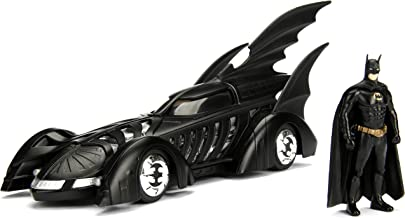 Jada Toys DC Comics Batman Forever Batmobile Die-cast Car, 1:24 Scale Vehicle & 2.75
