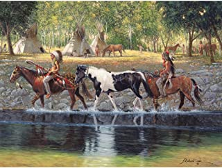 Bits and Pieces - 500 Piece Jigsaw Puzzle for Adults - The Prize - 500 pc Native American Jigsaw by Artist Russ Docken