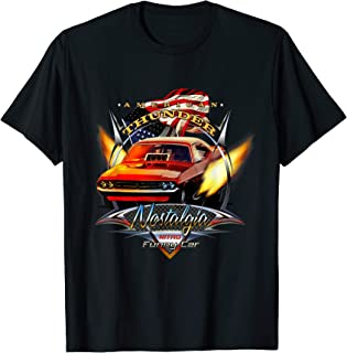 Nostalgia Funny Car American Drag Racing tee shirt