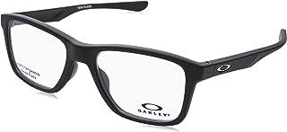 50d38076b20 Oakley OX 8107 01 Trim Plane (TRUBRIDGE Satin Black Plastic Square Eyeglasses  53mm