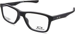 Oakley OX 8107 01 Trim Plane (TRUBRIDGE Satin Black Plastic Square Eyeglasses 53mm