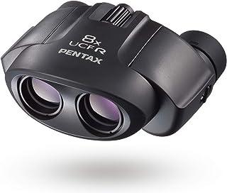 PENTAX 双眼鏡 8×21 UCF R ブラック 高級プリズムBak4搭載 倍率8倍 明るくクリアでコントラストの高い優れた光学性能 ポロプリズム コンサート ライブ スポーツ観戦 旅行 トレッキング メーカー保証1年 ペンタックス 62209