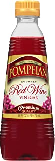 Pompeian Gourmet Red Wine Vinegar, Perfect for Salad Dressings, Marinades and Sauces,..