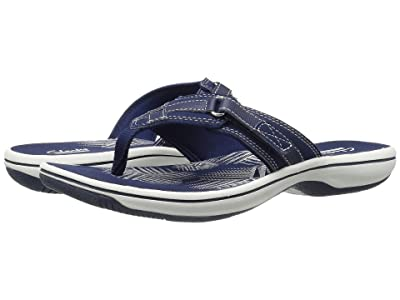 Clarks Breeze Sea (Navy Synthetic) Women