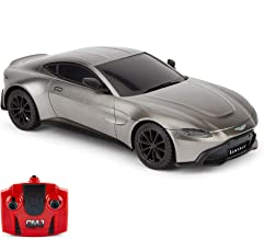 CMJ RC Cars™ Aston Martin Vantage Officially Licensed Remote Control Car. 1:24 Scale Grey