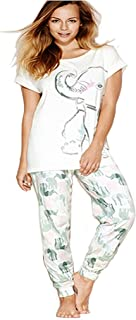 Nellie Elephant Womens 100% Cotton Pyjama Sets: Sizes Range From UK 10 - 24