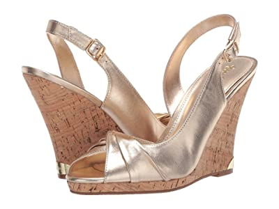 Lilly Pulitzer Christine Wedge (Gold Metallic) Women