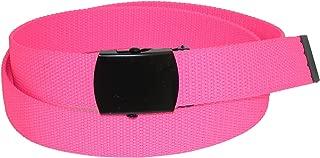 CTM Adjustable Neon Fabric Web Belt