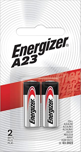Energizer Alkaline Batteries A23 2 Battery Count Packaging May Vary