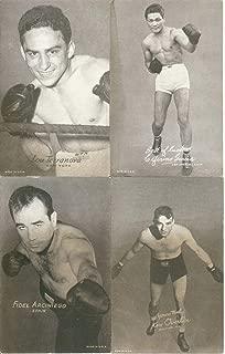 Vintage Boxing Cards 1920s Exhibit 11 Card Lot Conn Dade Cochrane Shans Angott
