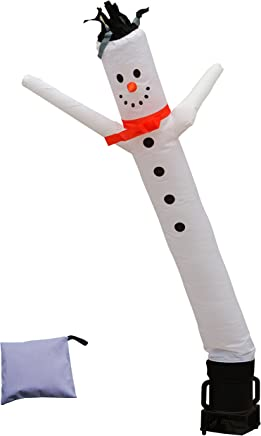 featured product LookOurWay Snowman 6ft Tall Air Dancers Inflatable Tube Complete Set with 1/4 HP Sky Dancer Blower