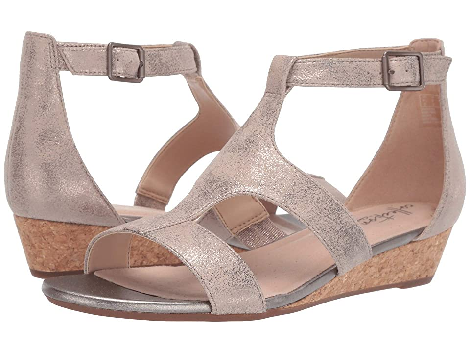 Clarks Abigail Lily (Pewter Suede) Women