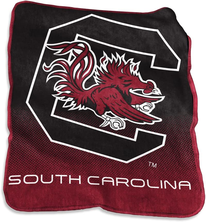 Logo Brands Officially Licensed NCAA Raschel Throw One Size Team Color