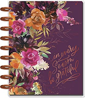 $34 » The Happy Planner Daily 12 Month Planner – January 2022 – December 2022 – Daily, Weekly & Monthly Metal Disc-Bound Pages –...